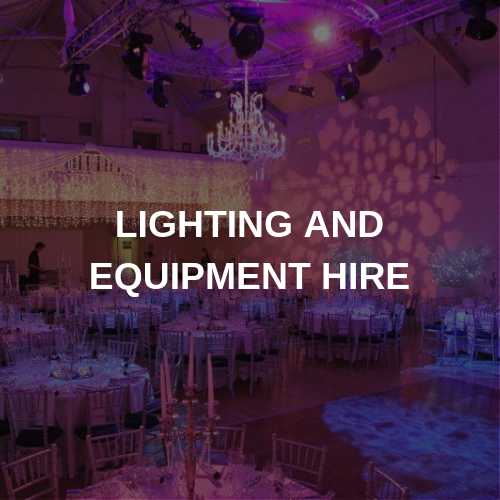 Lighting & Equipment Hire